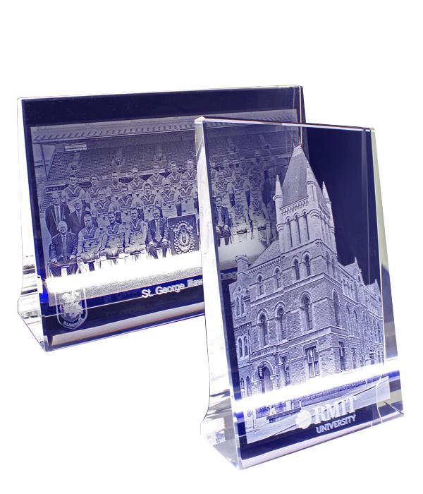 3D Crystal Plaques