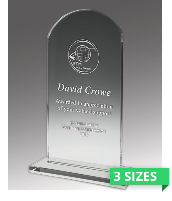 Budget Crystal Heritage Trophy