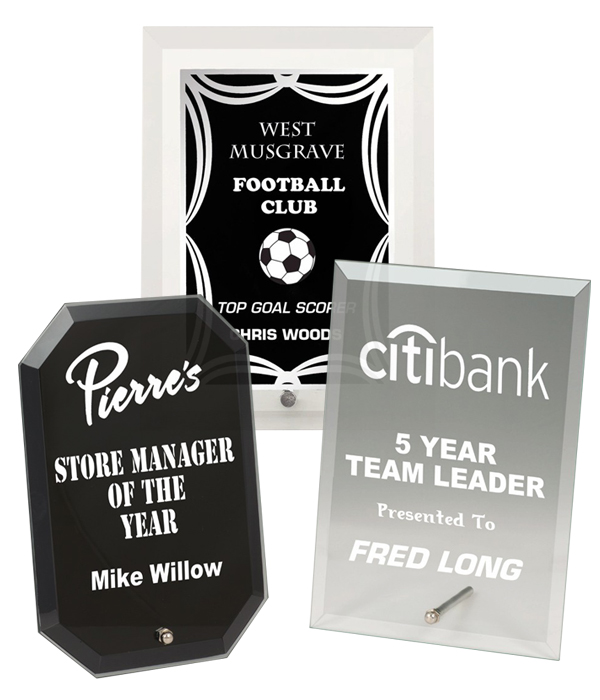 Budget Glass Plaques