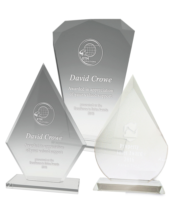 Budget Crystal Trophies