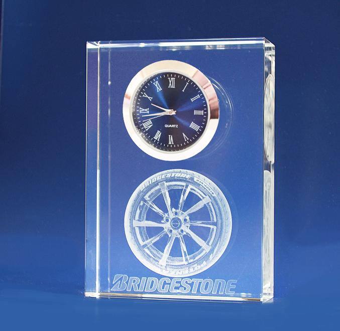 3D Crystal Clock