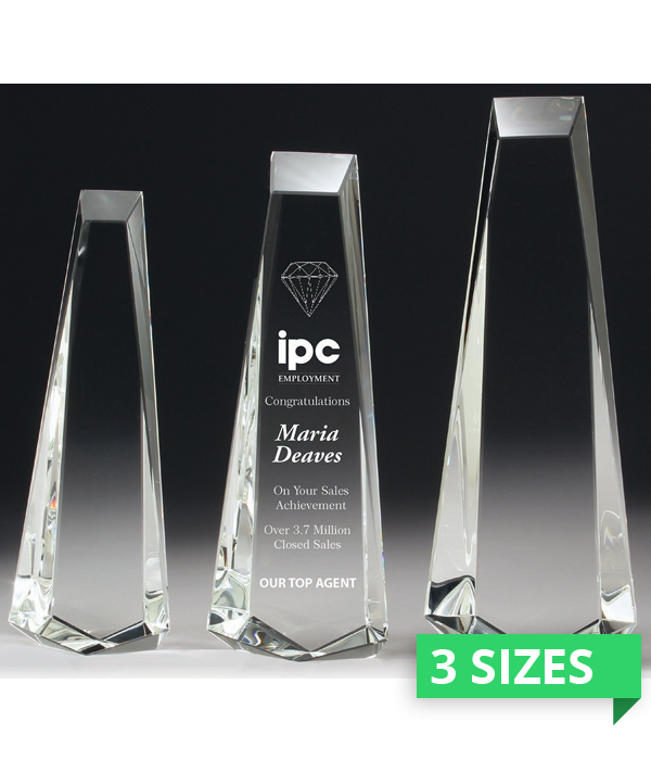 Elite Acclaim Crystal Award