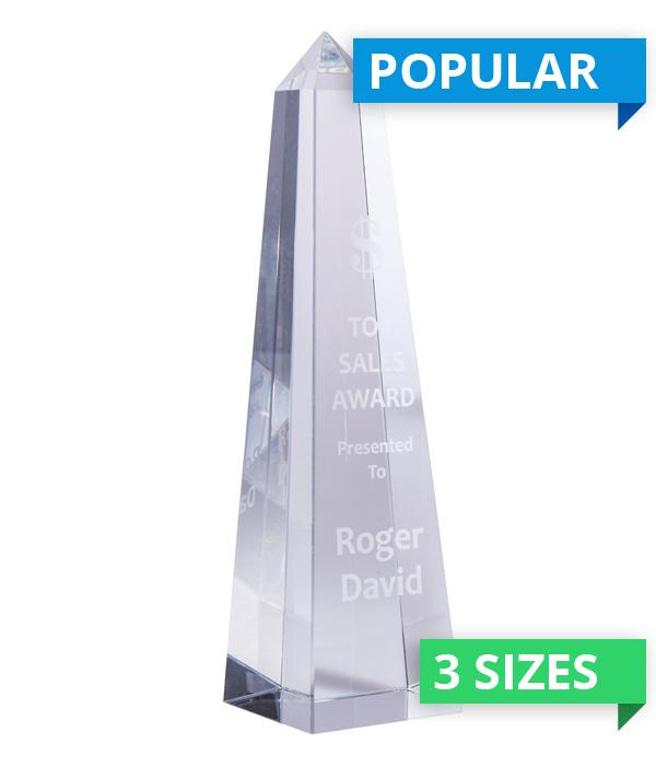 Elite Obelisk Crystal Award