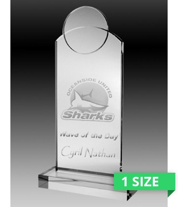 Lunar Crystal Trophy