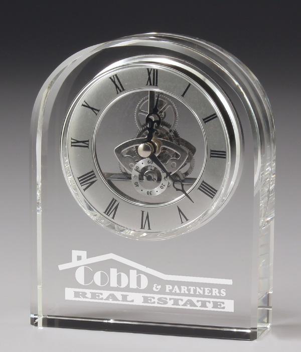 Executive Clock Crystal