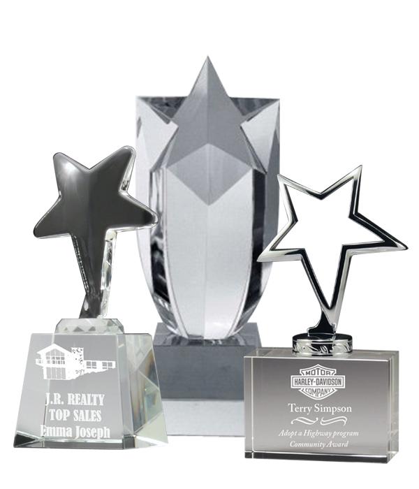Crystal Star Trophies