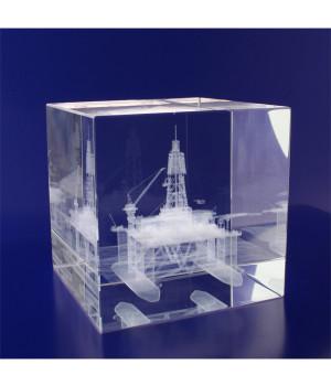 Crystal Cube- 80mm