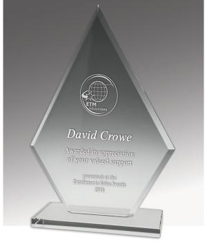 Budget Crystal Spear Trophy-175mm