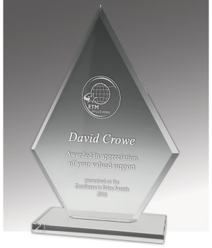 Budget Crystal Spear Trophy-200mm