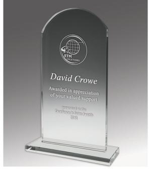 Budget Crystal Heritage Trophy-200mm