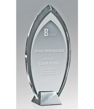 Liberty Peak Glass Trophy-230mm