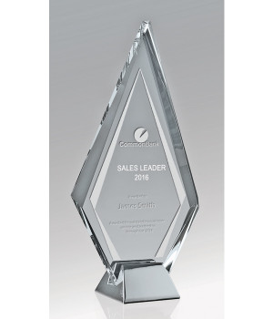 Liberty Spear Glass Trophy-230mm