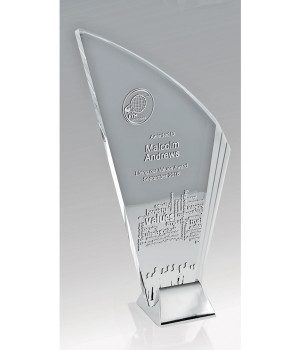 Liberty Blade Glass Trophy-245mm