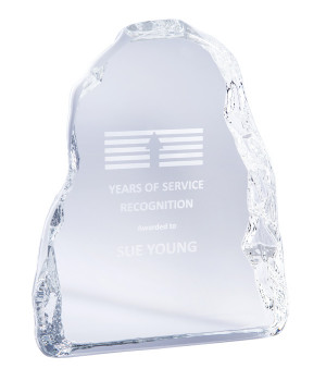 Iceberg Glass Award-135mm
