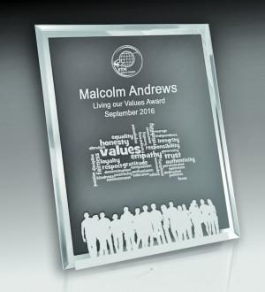 Budget Mirror Edge Glass Vertical-150mm