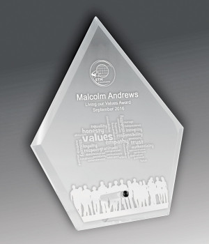 Solo Glass Spear Award-225mm