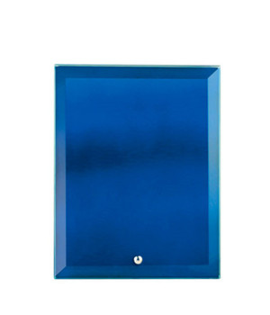 Vivid Glass Blue Rectangle-205mm