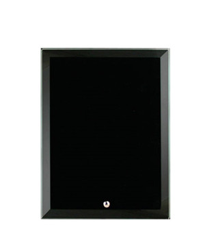 Vivid Glass Black Rectangle-150mm