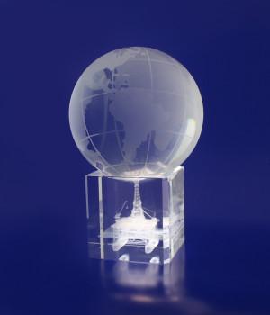 Spinning Globe- 100mm