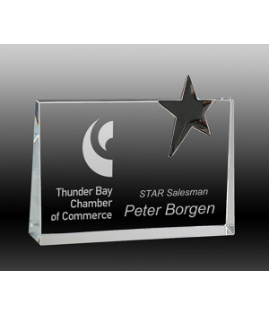 Royal Star Crystal Award-160mm