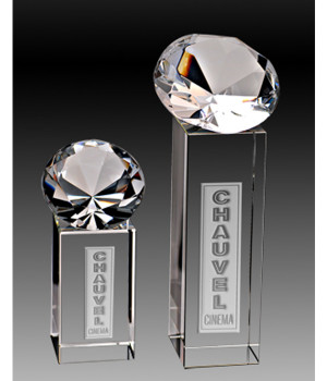 Jewel Tower Crystal Award-255mm