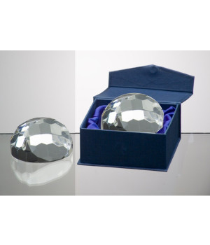 Beveled Dome Crystal Award-75mm
