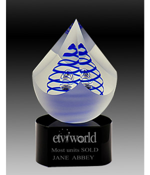 Art Glass Trophy-140mm