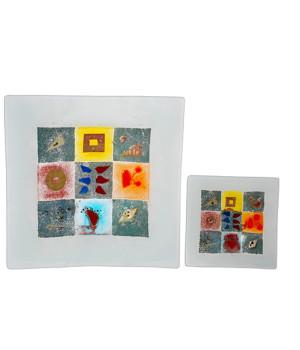 Art Glass Plate-250mm