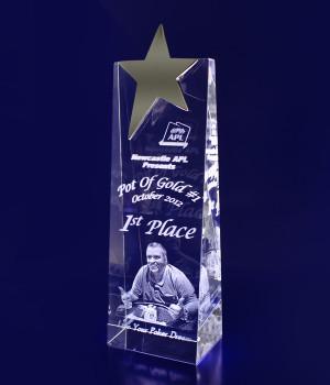 Star Wedge Trophy- 220mm