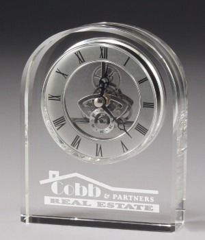 Executive Clock Crystal-145mm
