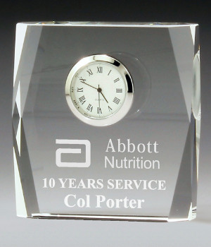 Bevelled Clock Crystal-100mm