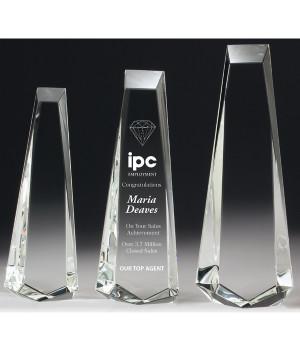 Elite Acclaim Crystal Award-300mm