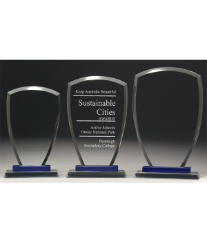 Pacific Radiant Glass Trophy-225mm
