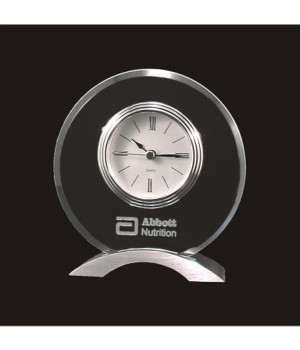 Lunar Clock Crystal Award-150mm