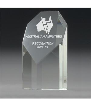 Quantum Heptad Crystal Award-120mm