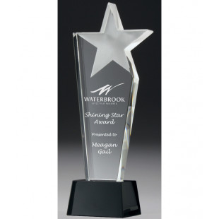 Infinity Star Crystal Trophy-240mm