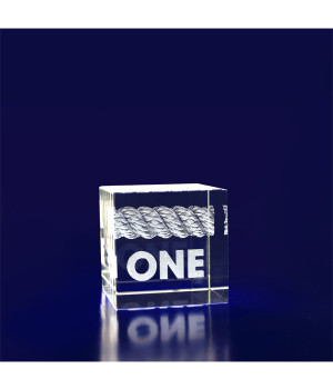 Crystal Cube - 40mm