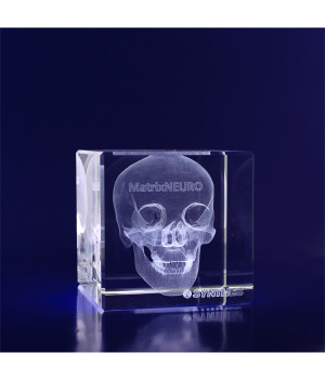 Crystal Cube- 60mm