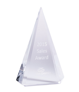 Elite Apex Crystal Award-220mm