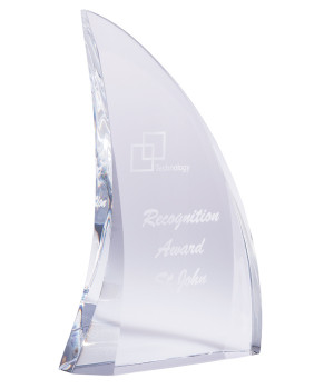 Dorsal Crystal Award-180mm