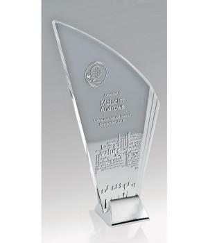 Liberty Blade Glass Trophy-215mm