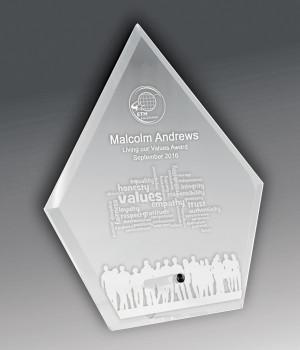 Solo Glass Spear Award-165mm
