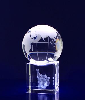 Spinning Globe- 60mm