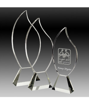 Wildfire Crystal Trophy-320mm