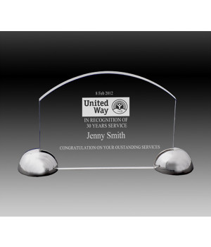 Imperial Arch Crystal Award-150mm