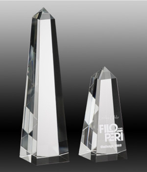 Noble Obelisk Crystal Award-250mm