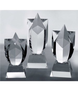 Meteor Star Crystal Trophy-170mm