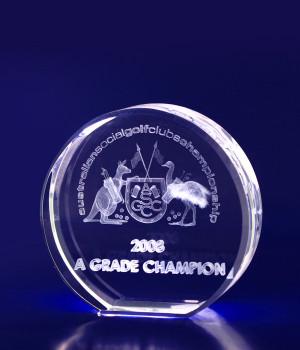 Round Crystal- 70mm