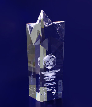 Star Pointed Trophy- 200mm