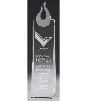Magestic Tower Crystal Award-310mm